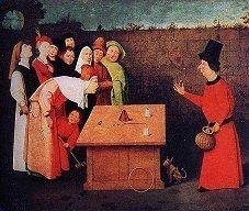 Hieronymus Bosch (1453-1516) : The Conjurer